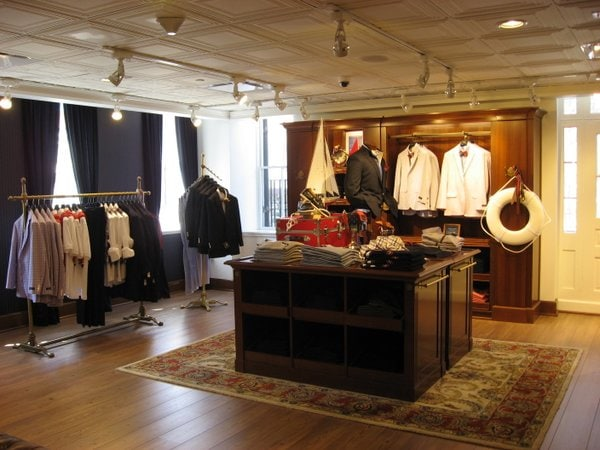 Georgetown men's clothing stores