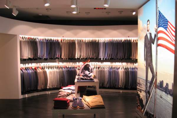 First Look Inside Suit Supply DC