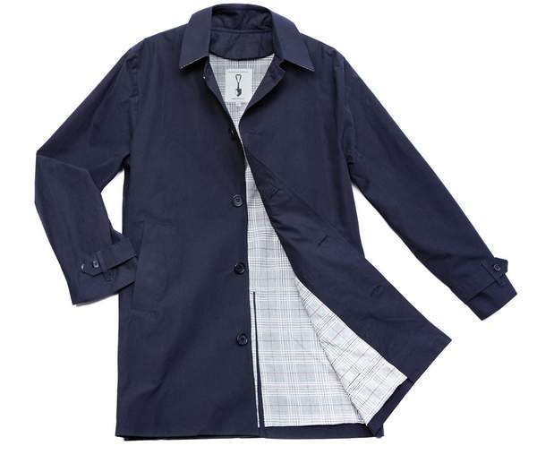 American Trench blue trench coat