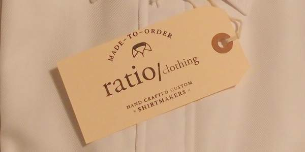 Ratio Clothing tag