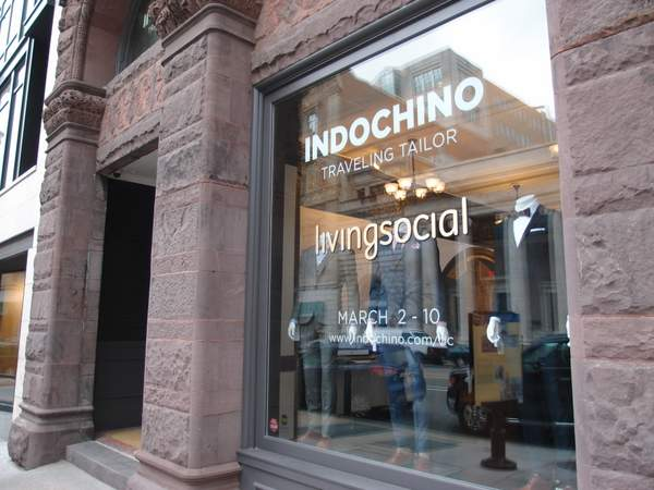 Indochino at Living Social in Washington DC