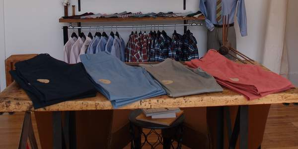 Lumina Clothing chinos