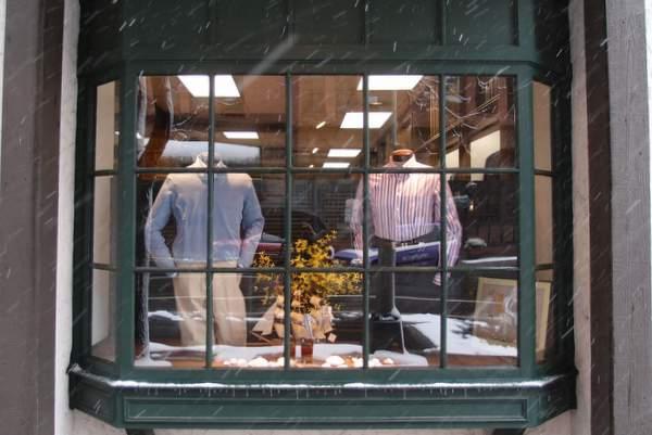 Homer Reed's window dressing.