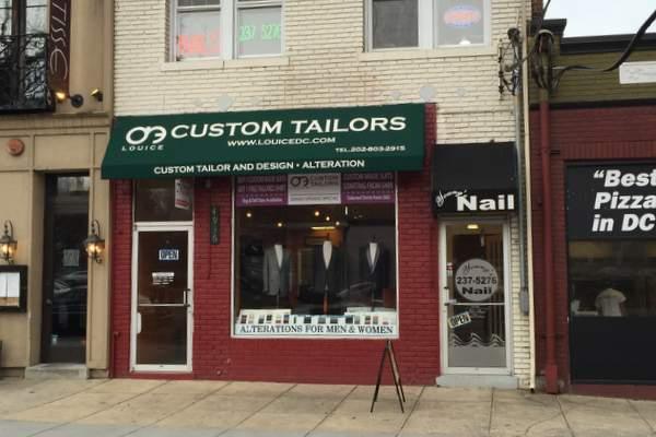 Louice-Custom-tailor-outside-DC