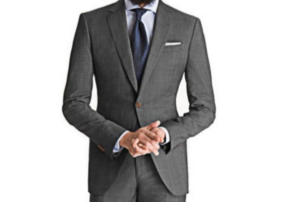 Black-Lapel-Cool-Gray-Suit-1
