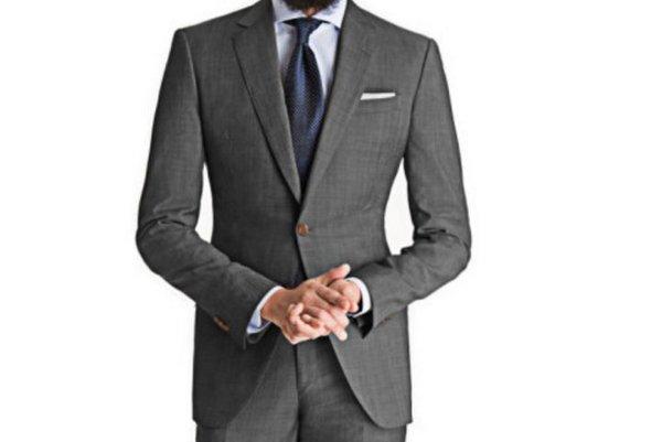 Black-Lapel-Cool-Gray-Suit-1