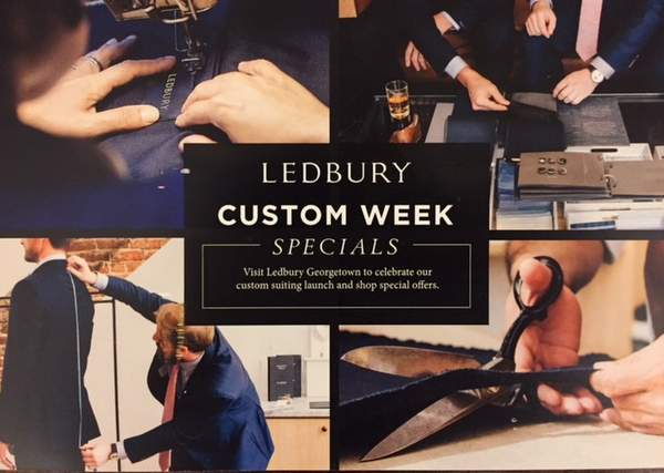 Ledbury Launches Italian-made Custom Suiting with Specials in Georgetown