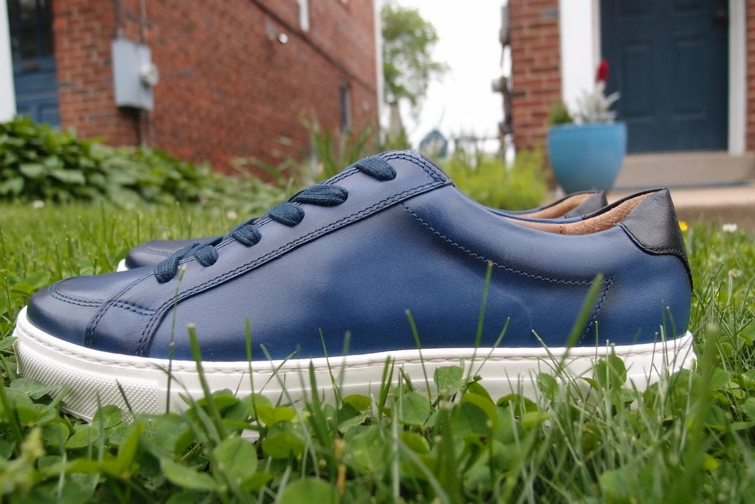 Review of Moral Code Alec leather trainers for men