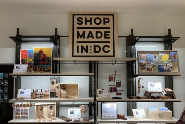 """First Look Inside the """"Made in DC"""" Shop at the DC History Center in Apple's Carnegie Library"""