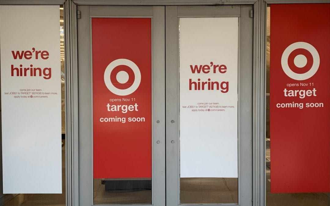 Tenleytown Target Opening November 11. Or November 10.