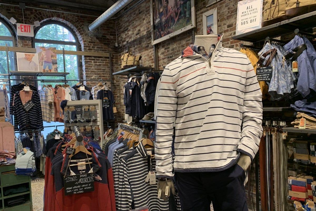 Reviewing British Retailer Fatface's U.S. Stores (Peek Inside)