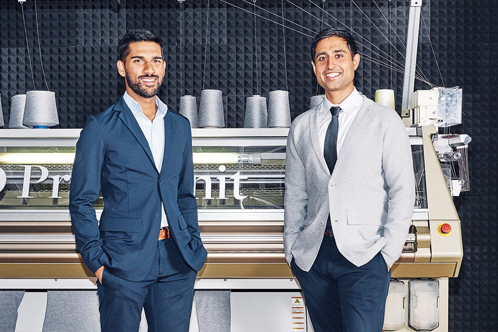 Aman and Gihan, Co-Founders, Ministry of Supply