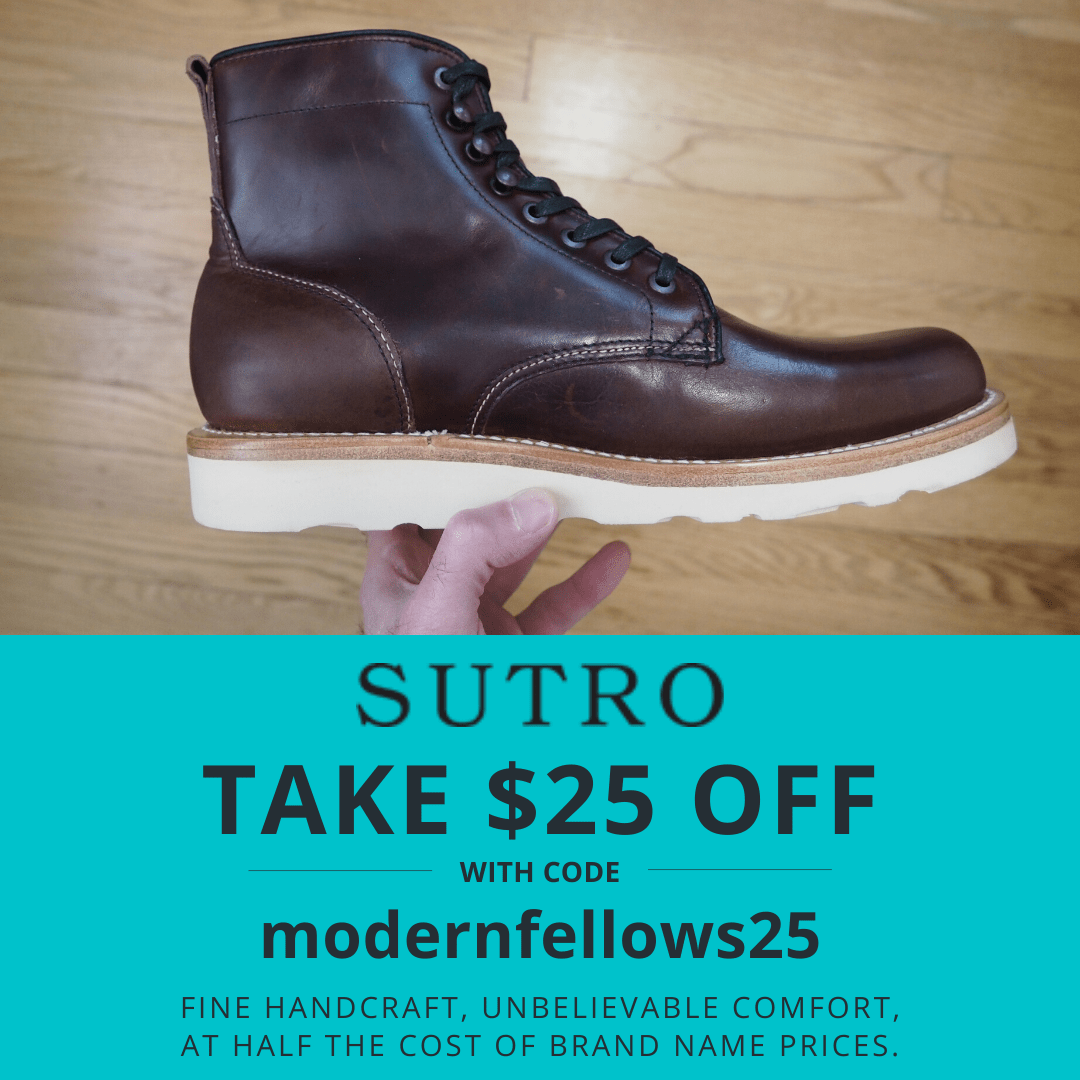Sutro Footwear $25 off coupon