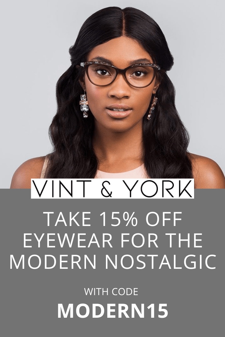 Vint and York coupon 15 percent off discount using code MODERN15